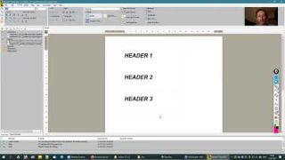 Приемы работы в TechEditor 1.x | Стили текста и колонтитулы
